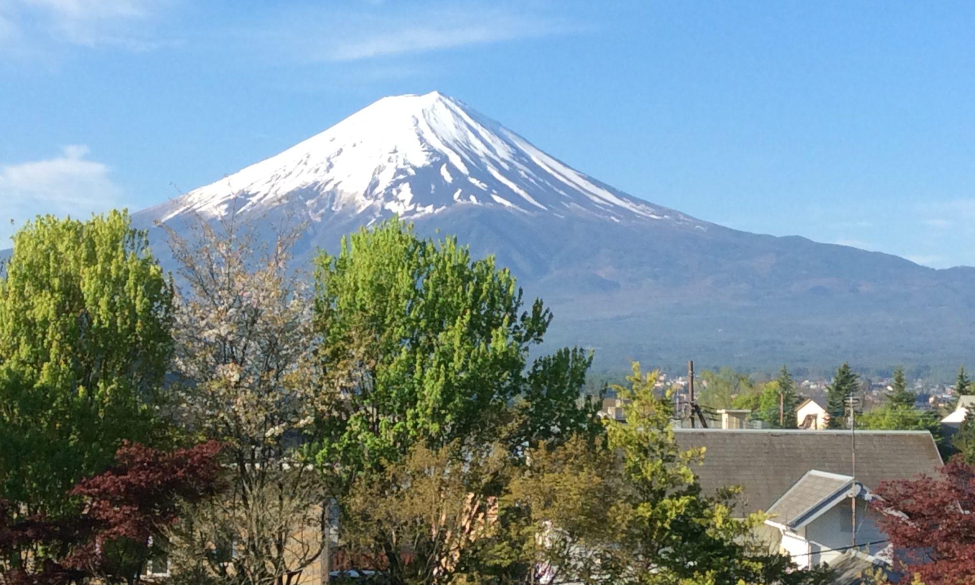 富士山の映像