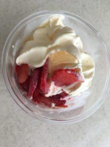 ハロハロ果実氷いちご