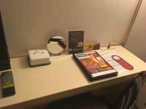 部屋のデスク