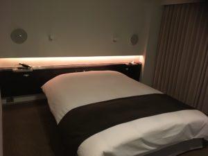 センチュリーロイヤルホテルの寝室