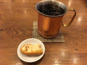 ジロー珈琲のアイスコーヒー