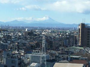 シーノ大宮からみた富士山