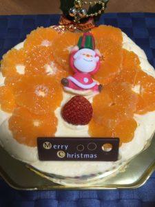 梅林堂の温州みかんケーキ