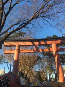 大宮氷川神社の鳥居