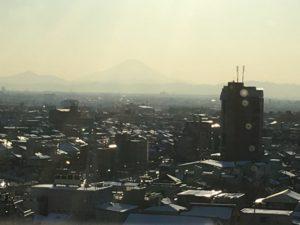 シーノ大宮から見た富士山