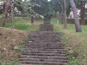 元町配水場の階段