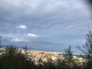 元町配水場から眺める海