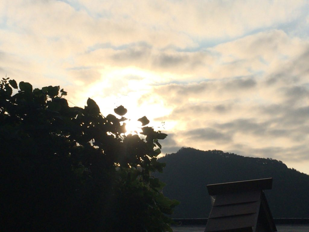 阿智村の空