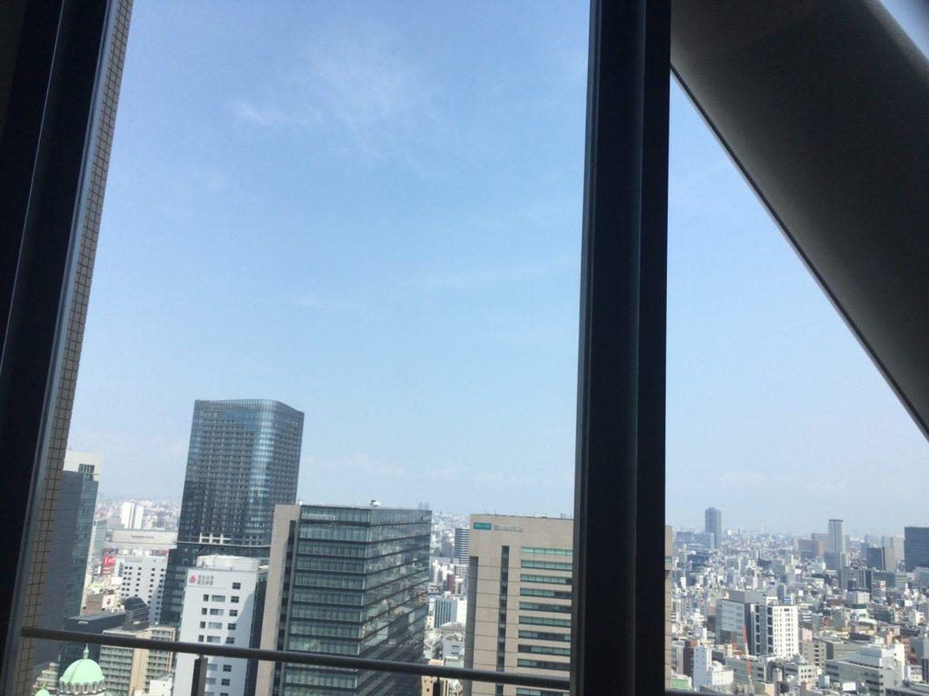 リバティタワー23階からの景色
