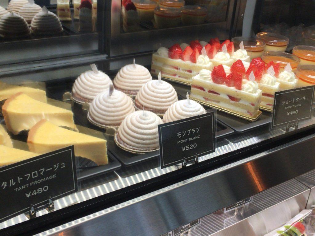 PEAK S PEAK CAFEのケーキ