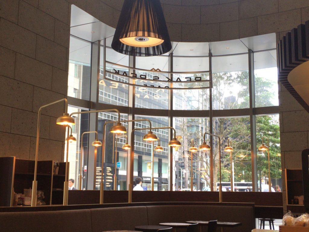 日本橋高島屋のPEAK S PEAK CAFE