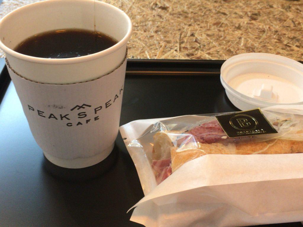 PEAK S PEAK CAFEのメニュー