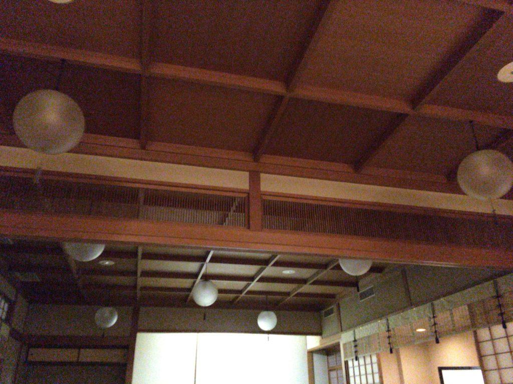 湯島天神の参集殿の会場