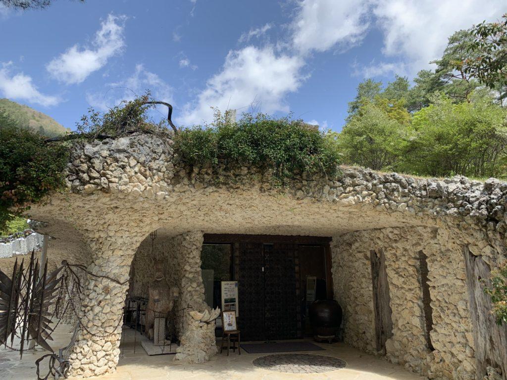 一竹美術館の入口